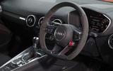 Audi TT RS steering wheel