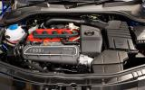 2.5-litre turbocharged Audi TT RS