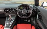 Audi TTS dashboard