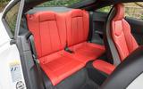 Audi TTS rear seats