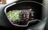 Audi TTS virtual cockpit