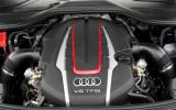 4.0-litre V8 engine in the Audi S8