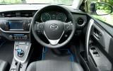 Toyota Auris Touring Sports dashboard