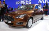 Revived Ford Escort revealed at Beijing motor show