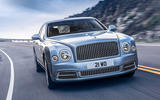 Bentley Mulsanne cornering