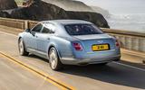Bentley Mulsanne rear