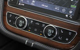 Bentley Bentayga Diesel climate controls