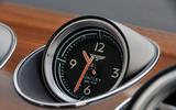 Bentley Bentayga Diesel clock