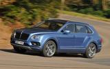 Bentley Bentayga Diesel cornering