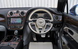 Bentley Bentayga Diesel dashboard