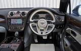 Bentley Bentayga Diesel dashboard