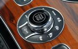 Bentley Bentayga Diesel ignition button