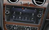 Bentley Bentayga Diesel infotainment system