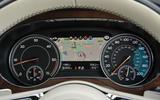 Bentley Bentayga Diesel instrument cluster