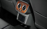 Bentley Bentayga Diesel rear console