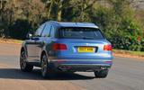 Bentley Bentayga Diesel rear cornering