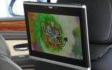 Bentley Bentayga Diesel rear infotainment screens