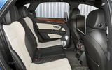 Bentley Bentayga Diesel rear seats