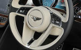 Bentley Bentayga Diesel steering wheel