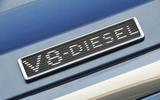 Bentley Bentayga Diesel V8 badging