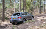 Bentley Bentayga off-roading rear