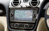 Bentley Bentayga infotainment
