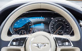 Bentley Bentayga instrument cluster
