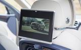 Bentley Bentayga rear TV screens