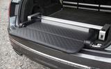 Bentley Bentayga fold out seat