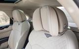 Bentley Bentayga rear head rests