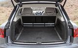 Bentley Bentayga boot space