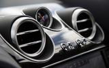 Bentley Bentayga air vents