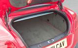 Bentley Continental GT's boot