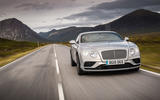 Bentley Continental GT front end