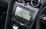 Bentley Continental GT infotainment