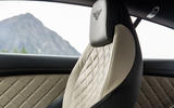 Bentley Continental GT quilted seats