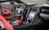 Bentley Continental GT V8 S dashboard