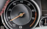 Bentley Continental GT V8 S rev counter