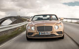 Bentley Continental GTC front end