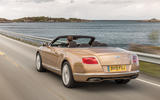 Bentley Continental GTC rear