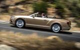 Bentley Continental GTC side profile