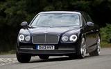 Bentley Flying Spur cornering
