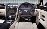 Bentley Flying Spur dashboard