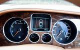 Bentley Flying Spur instrument cluster
