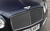Bentley Flying Spur front grille