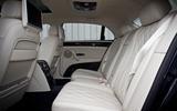 Bentley Flying Spur rear seats