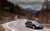 Bentley Continental Flying Spur cornering
