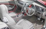 Bentley Continental GT Speed convertible dashboard