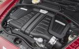 6.0-litre W12 Bentley Continental GT Speed engine