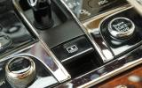 Bentley Mulsanne's switchgear